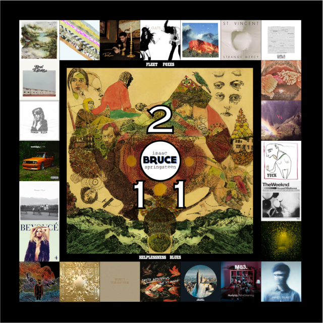 Brandon Foster's Top Albums of 2011